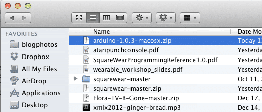 arduino mac install