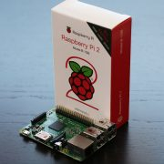 Raspberry Pi 2 Model B box