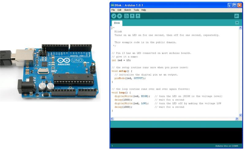 arduino plus IDE