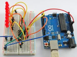arduino with Shift register
