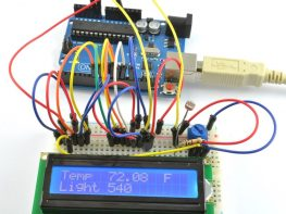 LCD Sensing project