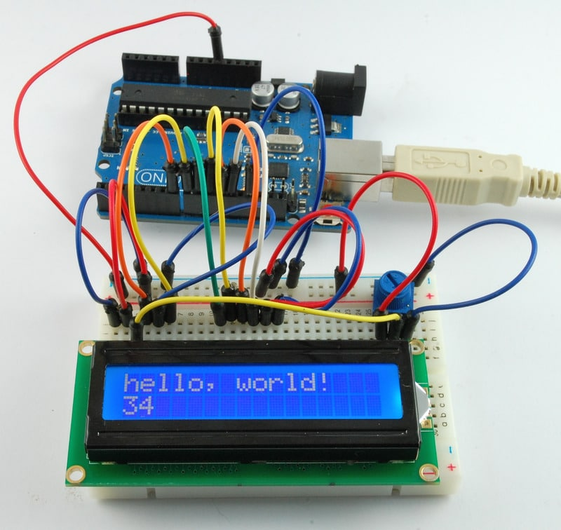 LCD display project