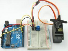Servo motor project
