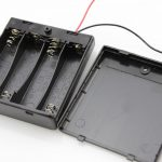 4 x aa battery holder with on off switch