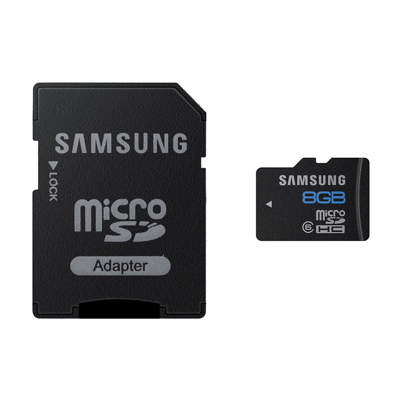 samsung 8gb class 6 microsd memory card. Black Bedroom Furniture Sets. Home Design Ideas