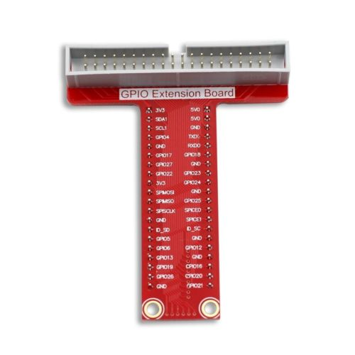 gpio extension 40 pins red