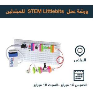 STEM Littlebits Riyadh kids workshop