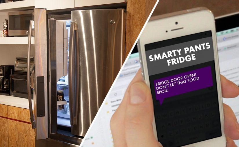 الثلاجة الذكية