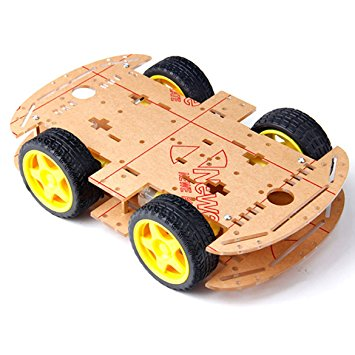 Robot Chassis with wheels and motors