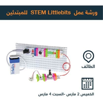 STEM littlebits beginners taif workshop