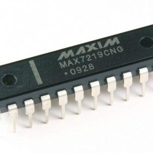 MAX7219CNG 7 Segment Driver IC
