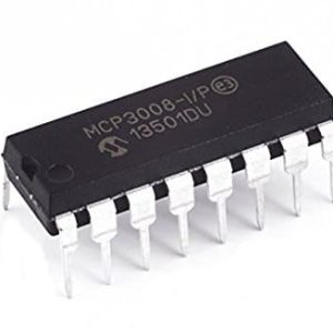 Microchip MCP3008-I/P 10-Bit ADC with SPI