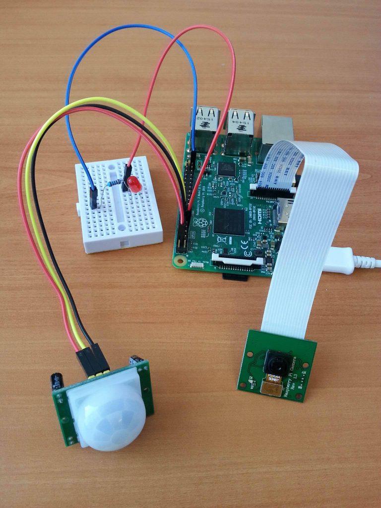 wraspberry-pi-iot-intruder-alert-system