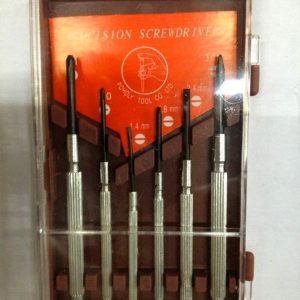 Screwdriver small tool set 6 pcs
