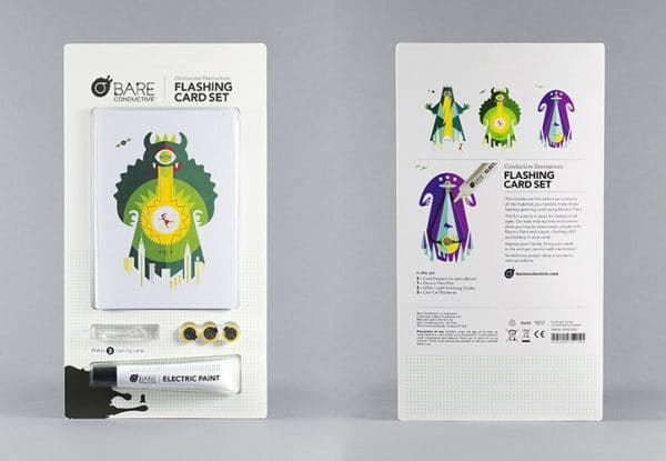 FLASHING CARD SET CONDUCTIVE ENCOUNTERS
