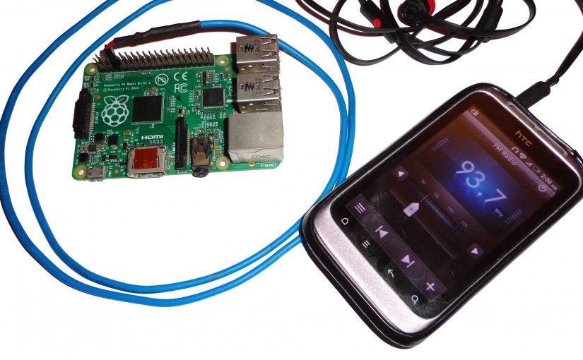 إستخدام الراسبيري باي كجهاز إرسال موجات FM