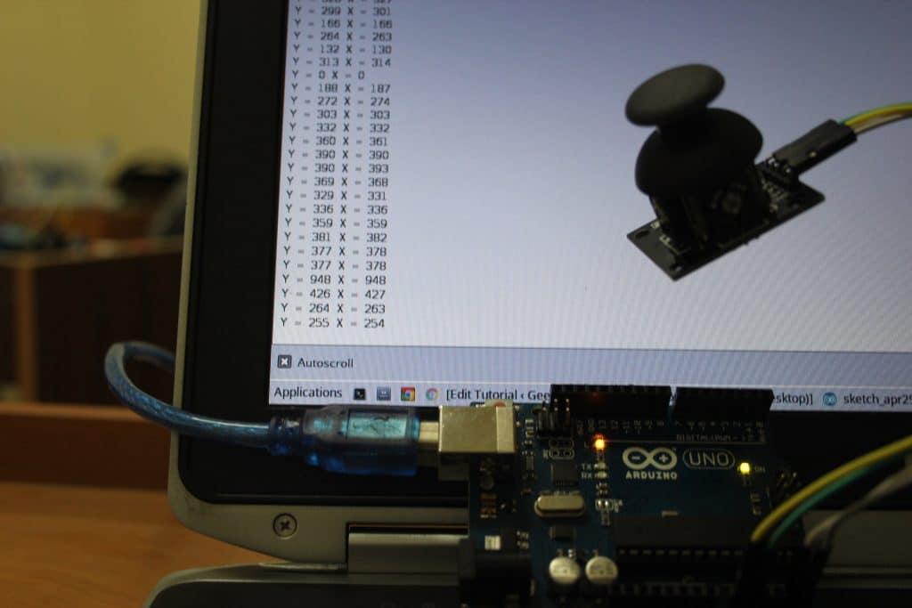 استخدام-عصا-التحكم-joystick-مع-الاردوينو