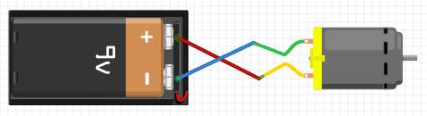 التحكم-فى-اتجاه-دوران-محرك-تيار-مستمر-ب
