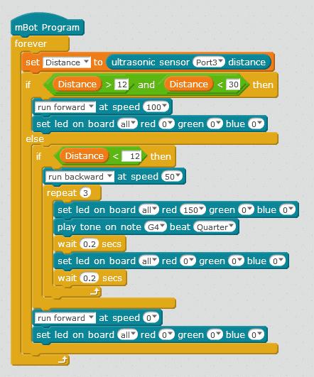 mbot-object-follower