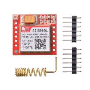 GSM SIM800L MODULE TTL + Antenna