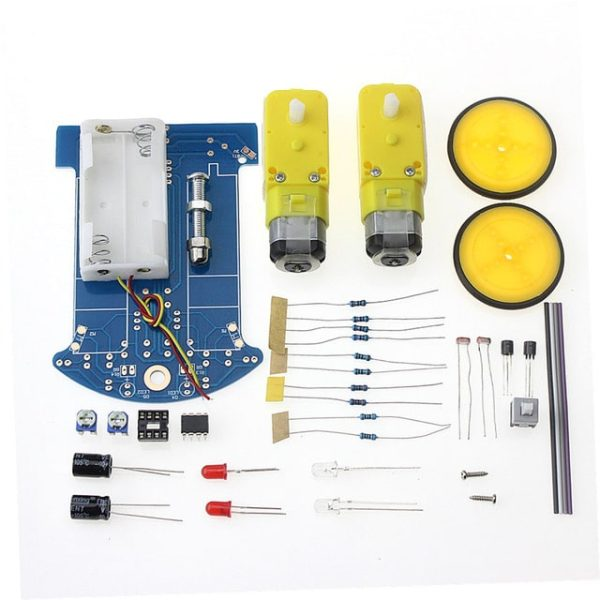 Intelligent Tracking Smart Car Chassis Kit