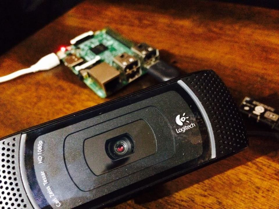 raspberry-pi-webcam-server