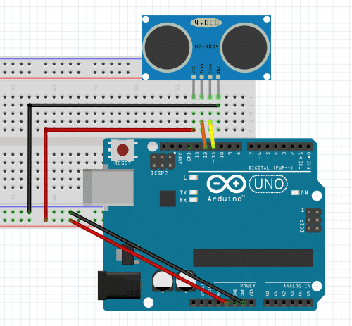 Room Map-Making Using Ultrasonic With Arduino