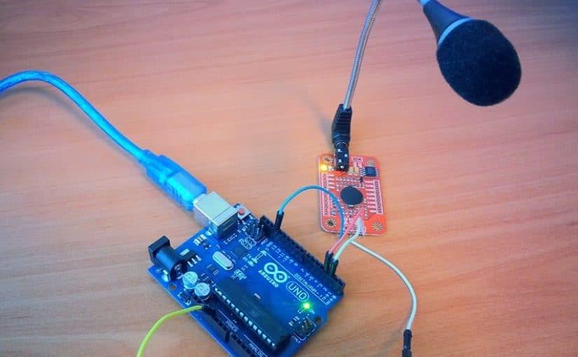 التحكم بالـ LED عبر الأوامر الصوتية