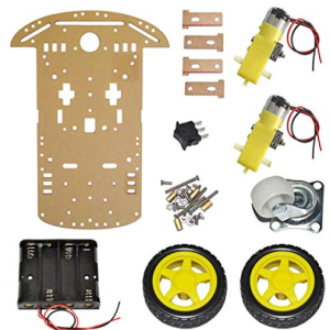 2WD Plastic Robot Chassis