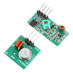 RF Wireless Transmitter and receiver 433Mhz
